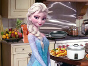 Elsa In Vintage Kitchen