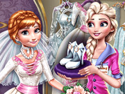 Elsa Preparing Anna Wedding