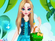 Elsa Summer Dress Up