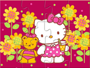Hello Kitty With Teddy Bear