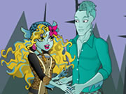 Lagoona And Gil Dress Up
