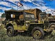 Military Jeep Puzzle