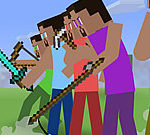 Minecraft Stickman Showdown