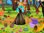 Princess Aurora Forest Cleaning