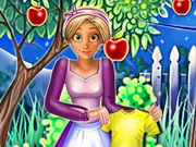 Rapunzel Great Cleaning